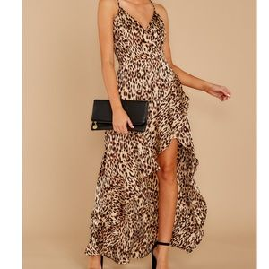 Leopard maxi dress from Red Dress Boutique - NWT